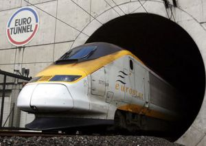 The Channel Tunnel in Europe