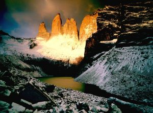 The National Park Torres del Paine, Chile