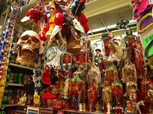 Witchcraft Market in Sonora, Mexico