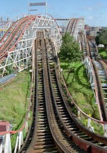 Blackpool Pleasure Beach, Lancashire, UK