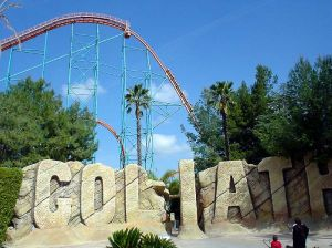 Six Flags Magic Mountain, California