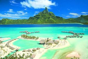 Bora Bora in French Polynesia