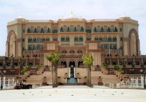 Emirates Palace Hotel in Abu Dhabi, United Arab Emirates