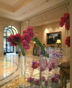 Hotel Four Seasons George V in Paris, France