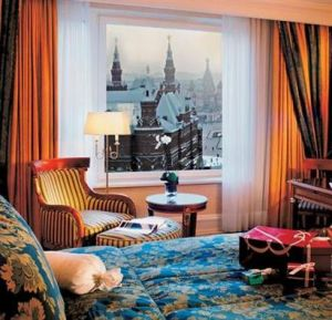 The Ritz-Carlton Hotel in Moscow, Russia