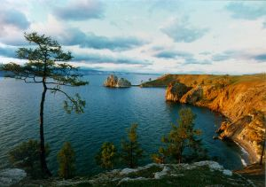 Lake Baikal in Russia