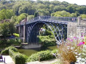 Iron Bridge in United Kingdom