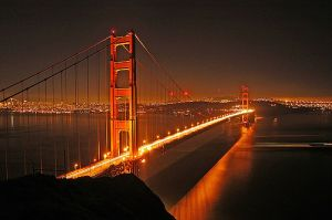 Golden Gate Bridge in USA