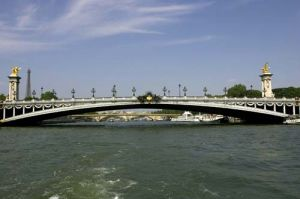 Alexander Bridge in Paris, France