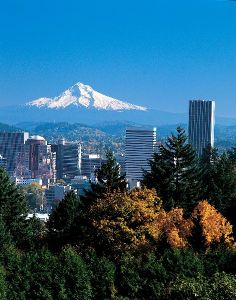 Portland in Oregon, USA
