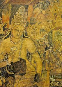 Ajanta Caves in Maharashtra, India