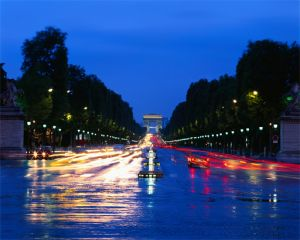 Champs-Élysées in Paris, France