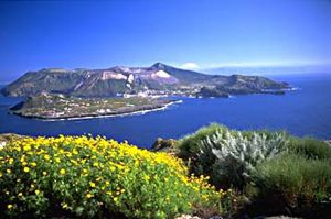 Aeolian Islands in Italy