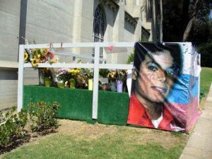 Forest Lawn Memorial Park in Los Angeles, USA