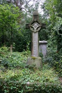 Highgate Cemetery in London, UK