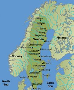 Images Sweden Map Best Pictures Sweden Map - Sweden big map