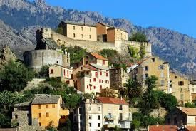 Corsica, island from Southern France