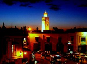 Marrakech city, Morocco