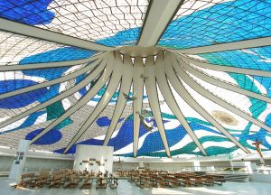 Cathedral of Brasilia in Brazil
