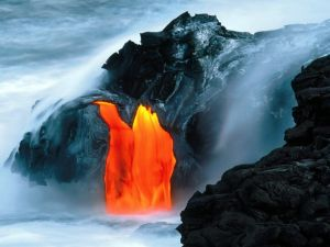 Volcanoes National Park in Hawaii, USA