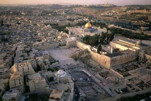 Jerusalem-the holy capital city of the world