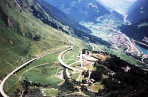 The Gotthard Pass-mysterious road in Switzerland