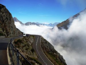 The Oberalp Pass-a gorgeous alpine route