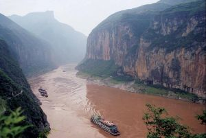 The Yang Tse Kiang River