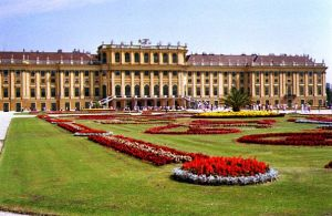 The Schonbrunn Palace