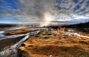 The Old Geysir, Iceland