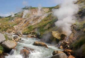The Valley of Geysers , Kamchatka