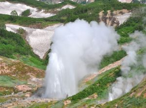 The Giant Geyser, Kamchatka