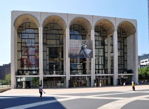 The Metropolitan Opera House of New York