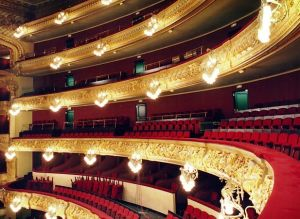 The Great Theatre of Liceo in Barcelona