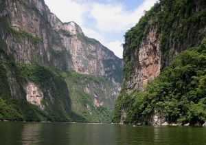 Sumidero Canyon in Mexic