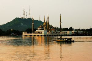 The Chrystal Mosque in Malaysia