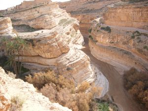 Mides Canyon in Tunisia