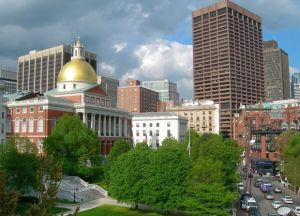 The Massachusetts State House, Boston