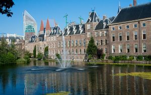 The Parliament Building, the Hague, Netherlands