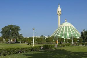 Mosque Fatima in Kuwait