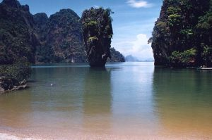 James Bond Island -  a popular attraction in Thailand