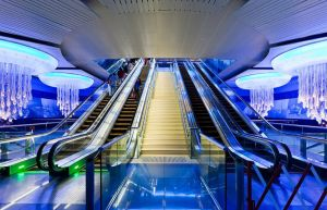 Mall of the Emirates Metro Station, Dubai