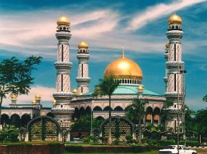 Jamie Asr Mosque in Brunei