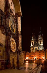 The City Hall and Prague Astronomical Clock