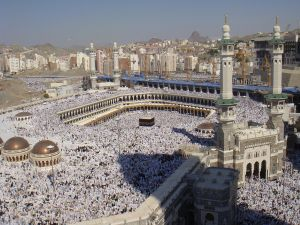 Holy Mosque in Makkah
