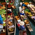 Image Damnoen Saduak Floating Market - The best places to visit in Bangkok, Thailand