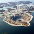 The Diavik Diamond Mine, Canada