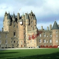Glamis Castle in Scotland, UK