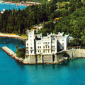 Image Miramare Castle in Trieste, Italy - Top castles to visit in Europe
