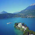 Image Lake Annecy in France - The most beautiful lakes in the world